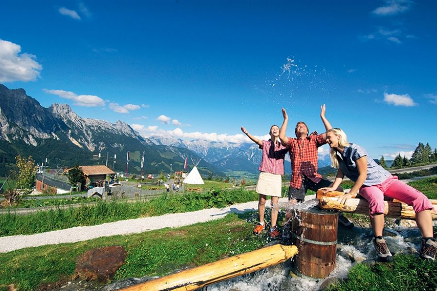 Senses experience theme path in Leogang